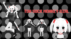 :MOTME: Sock Monkey-chan by MMDHaii