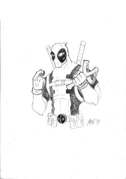 Deadpool: He's a bit angry... by musikalora