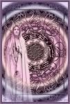 Dedication Mandala - Holy Virgin Mary by FractalBee