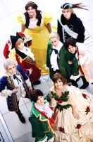 Hetalia: Group by Amapolchen