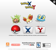 Pokemon X and Y Desktop Icons [256x256] by Solonir