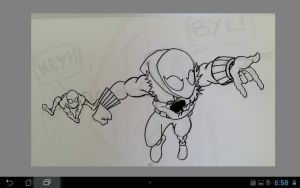 WIP -- Spider-man Chase by TRANFDQ