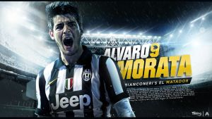 Alvaro Morata Wallpaper 2014/2015 by AlbertGFX