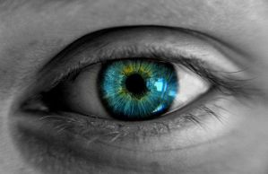 My sisters Eye by millac86