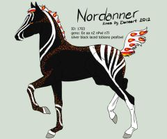 Nordanner foal 1703 design by Ikiuni