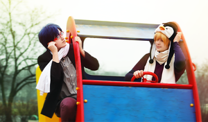 Free! // Nagisa-kun, slow down! by DAIxSORA