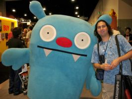 ORD and an Uglydoll by OneRadicalDude