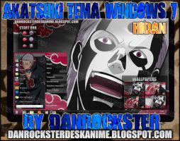 Hidan Theme Windows 7 by Danrockster