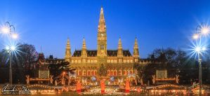 Christkindlmarkt Vienna 2 by Nightline
