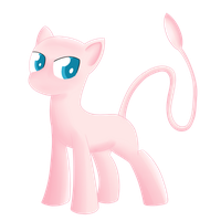 Mew Pony by Dragonfoorm