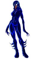 Symbiote Giantess Lily by Lily-of-Darkness