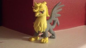 Original Griffin Character Figure Mod by Oceanblue-Art