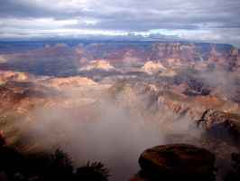 Storm Clears at Grand Canyon 3 by Geotripper