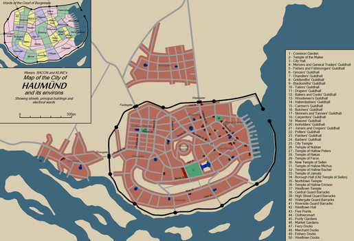 Haumund and its environs by TheAresProject