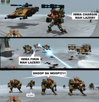 Tau Lazers by ralter