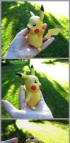 Pokemon Pikachu Sculpt 04 by Tsurera