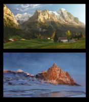 Landscape_Studies by janemini