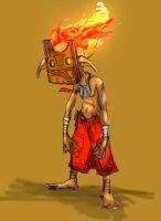 Firedude by Cairos
