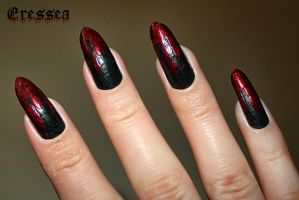 Bloody nails by eresseayesta