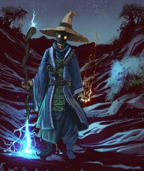 Black Mage by artfulshrapnel