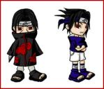 Uchiha Brothers by RedKeurimja