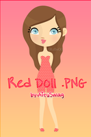 Red Doll .PNG by LightAddiction