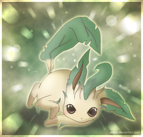 Flora the Leafeon by Wakki
