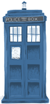 TARDIS: the Big Blue Box by dulceice