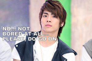 Jonghyun is Bored by PS-Yume