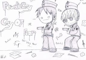 PewdieCry:The Most Epic Police Officers Ever by AnsDraw