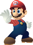 Mario Fighting Stance by Matt2tB-Portfolio