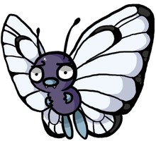 Disapprovalmon- #12, Butterfree by JellyTheTangrowth
