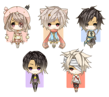 Base Chibi Batch 3 by Miivei