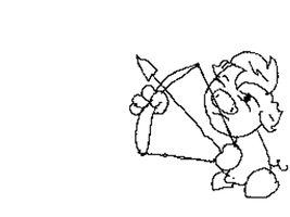 Animation: Bow and arrow by Burnzy69