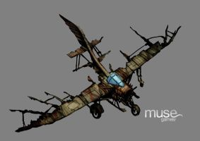 Raider Aircraft by musegames