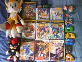 My Sonic Team Collection 1.0 by Dave-NiGHTS