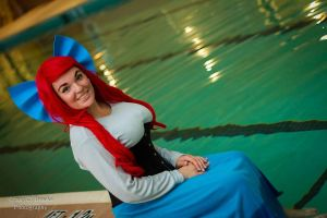 Princess Ariel Cosplay - Where the People Are by SparrowsSongCosplay