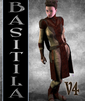 Textures for Bastila for V4 by mylochka