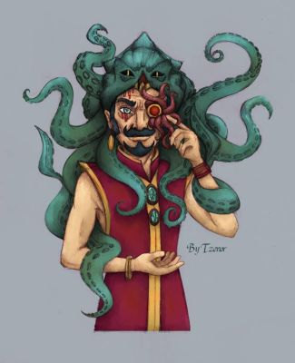 Occult Monocle - Drawing challenge by Tzenor