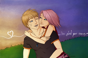 NaruSaku - Love Me Like A Love Song by Eyoha