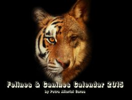 Felines and Canines Calendar 2015 by Allerlei
