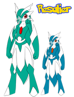 Fakemon: Resalier by ShadowScarKnight