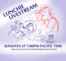 SURPRISE! LIVESTREAM #06 Sunday NOW!! by isitlunchyet