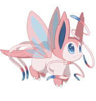 [CUSTOM] Sylveon floradragon by Ayinai