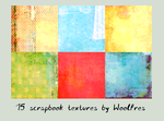 Icon textures pack 11 - scrapbook by Woolfres