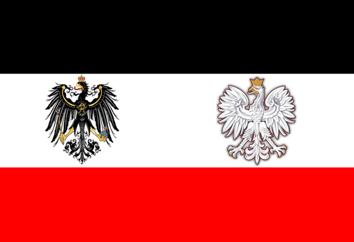Polish-Prussian commonwealth flag by Disney08