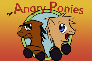 The Angry Ponies by Tetrapony