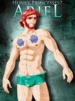 Hunky Disney Princesses - Ariel by Luisazo