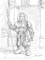 Female Dwarf Design by Taman88