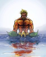 Aquaman by dafrek